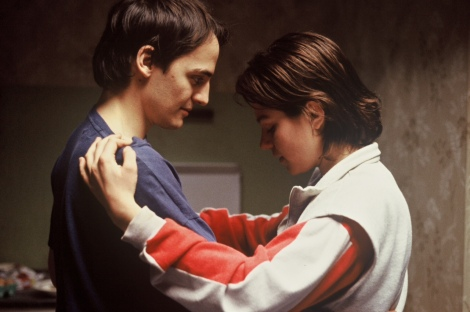 Fabrizio Rongione and Émilie Dequenne star in Jean-Pierre and Luc Dardenne's Rosetta. Courtesy of The Criterion Collection.