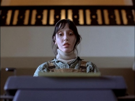 "Shelley Duvall stars in Stanley Kubrick's ""The Shining."" Courtesy of Warner Bros."