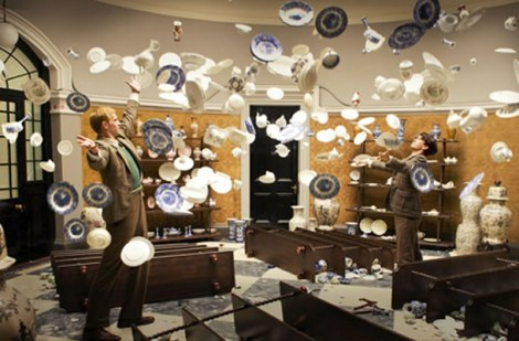 "James D'Arcy and Ben Whishaw star in Tom Tykwer, Andy and Lana Wachowski's ""Cloud Atlas."" Courtesy of Warner Bros."