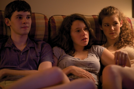 "Tyler Ross, Allison Torem and Molly Kunz star in Stephen Cone's ""The Wise Kids."" Courtesy of Stephen Cone."