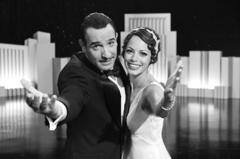 "Jean Dujardin and Berenice Bejo star in Michel Hazanavicius' ""The Artist."" Courtesy of The Weinstein Company."