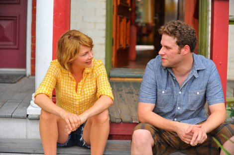"Michelle Williams and Seth Rogen star in Sarah Polley's ""Take This Waltz."" Courtesy of Magnolia Pictures."