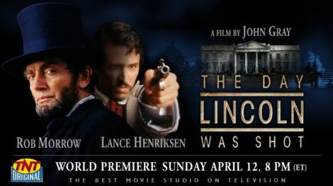 The Day Lincoln Was Shot. Courtesy of TNT.