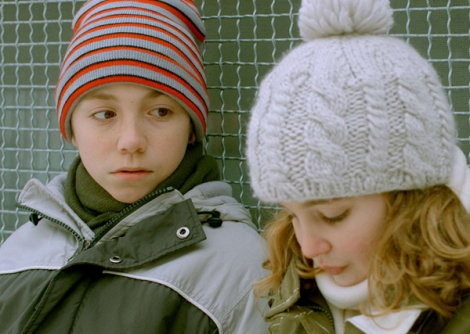 Émilien Néron and Sophie Nélisse star in Philippe Falardeau's Monsieur Lazhar. Courtesy of Music Box Films.