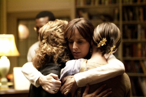 Debra Winger, Rosemarie DeWitt and Anne Hathaway star in Jonathan Demme's Rachel Getting Married. Courtesy of Sony Pictures Classics.