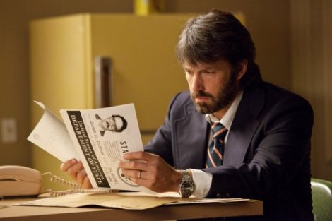 Ben Affleck stars in his third directorial effort, Argo. Courtesy of Warner Bros. Pictures.