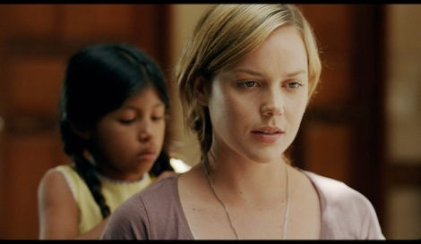 "Maritza Santiago Hernandez and Abbie Cornish star in David Riker's ""The Girl."" Courtesy of Brainstorm Media."