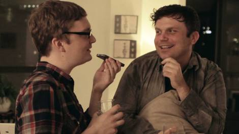 Nathan Adloff and Danny Rhodes star in Adloff's Cock N' Bull. Courtesy of Nathan Adloff.