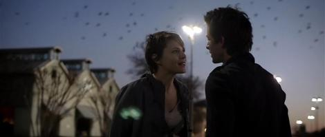 Amy Seimetz and Shane Carruth star in Carruth's Upstream Color. Courtesy of erbp.