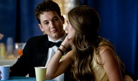 "Miles Teller and Shailene Woodley star in James Ponsoldt's ""The Spectacular Now."" Courtesy of A24."
