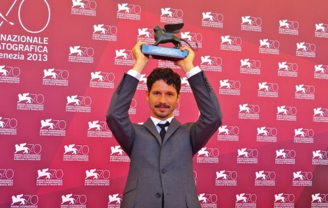 Gabe Klinger at the Venice Film Festival. Courtesy of Nikolas Montaldi.