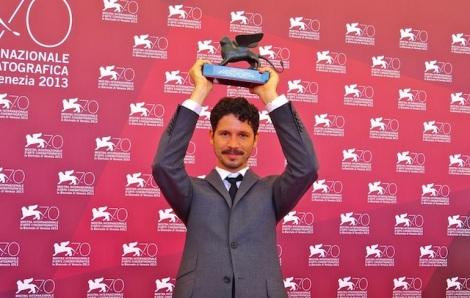 Gabe Klinger at the Venice Film Festival. Courtesy of Nikolas Montaldi.