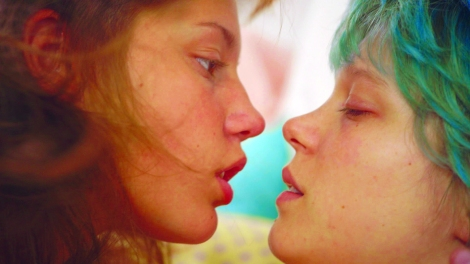 """Adèle Exarchopoulous and Léa Seydoux star in Abdellatif Kechiche's """"Blue is the Warmest Color."""" Courtesy of CIFF."""