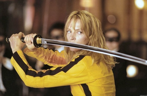 "Uma Thurman stars in Quentin Tarantino's ""Kill Bill: Vol. 1."" Courtesy of Miramax Pictures."
