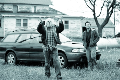 "Bruce Dern and Will Forte star in Alexander Payne's ""Nebraska."" Courtesy of CIFF."