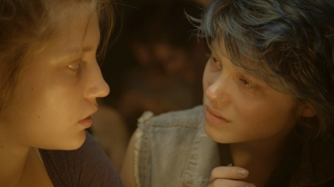 "Adèle Exarchopoulos and Léa Seydoux star in Abdellatif Kechiche's ""Blue is the Warmest Color."" Courtesy of Sundance Selects."