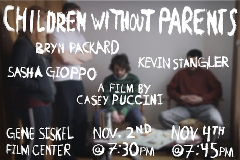 """Children Without Parents"" screens November 2nd and November 4th at the Gene Siskel Film Center."