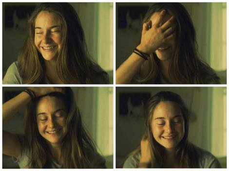"Shailene Woodley in James Ponsoldt's ""The Spectacular Now."" Courtesy of A24."