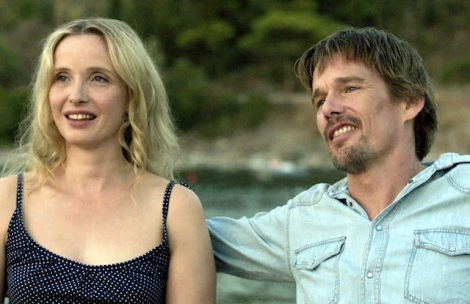 "Julie Delpy and Ethan Hawke star in ""Before Midnight."" Courtesy of Sony Pictures Classics."