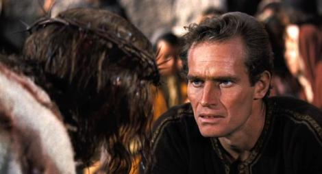 "Claude Heater and Charlton Heston star in William Wyler's ""Ben-Hur."" Courtesy of Metro-Goldwyn-Mayer."