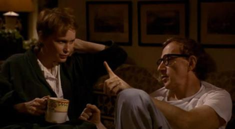 """Mia Farrow and Woody Allen star in Allen's 1992 masterpiece, """"Husbands and Wives."""" Courtesy of TriStar Pictures."""