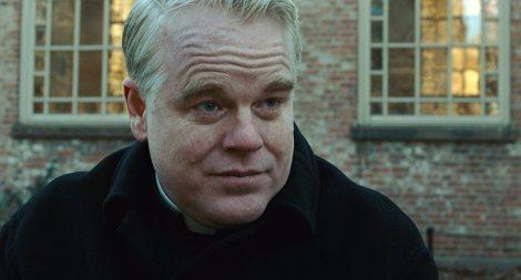 "Philip Seymour Hoffman stars in John Patrick Shanley's ""Doubt."" Courtesy of Miramax Films."