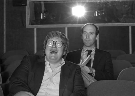 Roger Ebert and Gene Siskel. Courtesy of AP.
