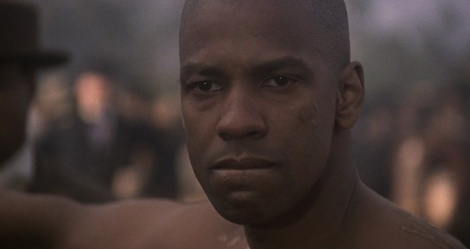 "Denzel Washington stars in Edward Zwick's ""Glory."" Courtesy of TriStar Pictures."