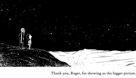 A still from Krishna Shenoi's tribute to Roger Ebert.