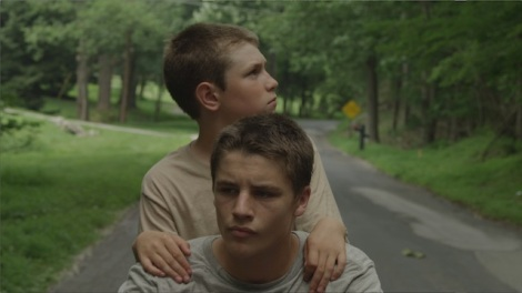 "Ryan Jones and Nathan Varnson star in Daniel Patrick Carbone's ""Hide Your Smiling Faces."" Courtesy of Tribeca Film."