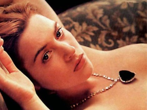 "Kate Winslet in James Cameron's ""Titanic."" Courtesy of Twentieth Century Fox."