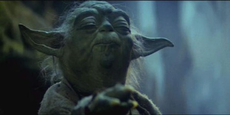 "Yoda in ""Episode V."" Courtesy of Twentieth Century Fox."