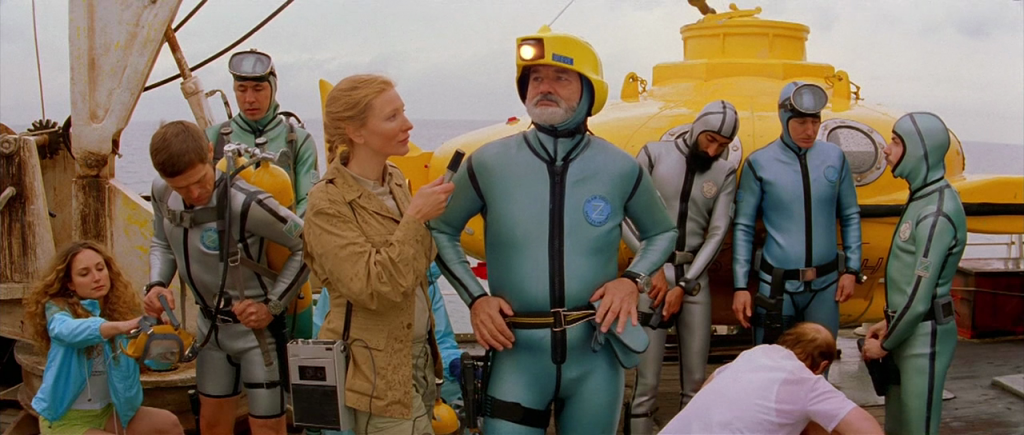 """aeb672390cef33 Cate Blanchett and Bill Murray star in Wes Anderson s """"The Life Aquatic  with Steve Zissou"""