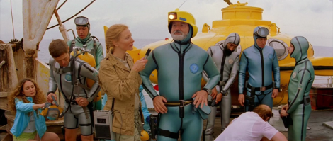 "Cate Blanchett and Bill Murray star in Wes Anderson's ""The Life Aquatic with Steve Zissou."" Courtesy of The Criterion Collection."