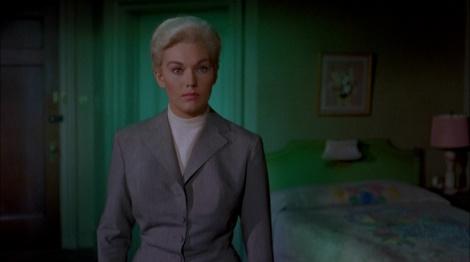 "Kim Novak in Alfred Hitchcock's ""Vertigo."" Courtesy of Universal Pictures."