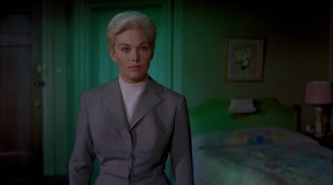 "Kim Novak in Alfred Hitchcock's ""Vertigo."" Courtesy of Universal Pictures."