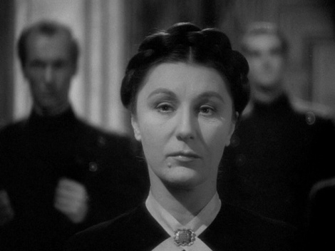 "Judith Anderson in Alfred Hitchcock's ""Rebecca."" Courtesy of The Criterion Collection."