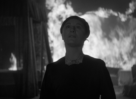 """Judith Anderson in Alfred Hitchcock's """"Rebecca."""" Courtesy of The Criterion Collection."""