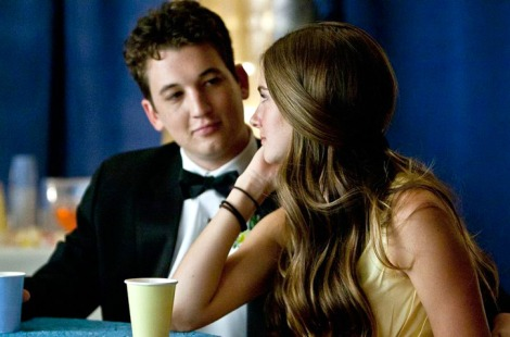 "Miles Teller and Shailene Woodley in James Ponsoldt's ""The Spectacular Now."" Courtesy of A24."