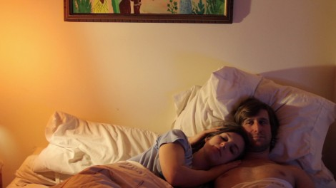 "Sophia Takal and Lawrence Michael Levine in Joe Swanberg's ""The Zone."" Courtesy of Swanberry."