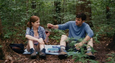 "Anna Kendrick and Ron Livingston in Joe Swanberg's ""Drinking Buddies."" Courtesy of Magnolia Pictures."