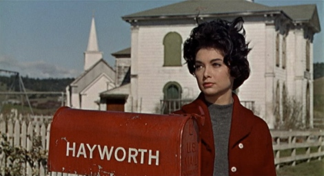 "Suzanne Pleshette in Alfred Hitchcock's ""The Birds."" Courtesy of Universal Pictures."