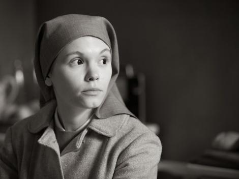 """Agata Trzebuchowska in Pawel Pawlikowski's """"Ida."""" Courtesy of Music Box Films."""