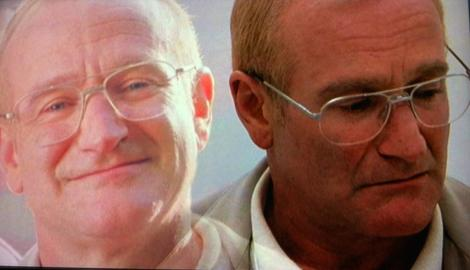 "Robin Williams in Mark Romanek's ""One Hour Photo."""