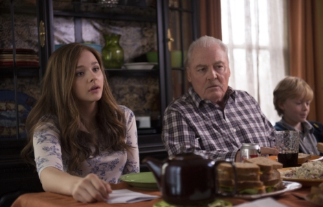 "Chloë Grace Moretz and Stacy Keach in R.J. Cutler's ""If I Stay."" Courtesy of Warner Bros."
