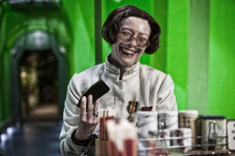 "Tilda Swinton in Bong Joon-ho's ""Snowpiercer."" Courtesy of The Weinstein Company."