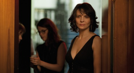 "Kristen Stewart and Juliette Binoche in Olivier Assayas's ""Clouds of Sils Maria."" Courtesy of CIFF."