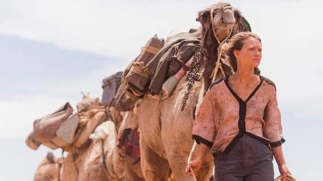 "Mia Wasikowska in John Curran's ""Tracks."" Courtesy of The Weinstein Company."
