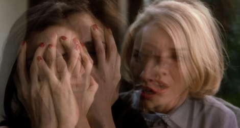 "Laura Elena Harring and Naomi Watts in David Lynch's ""Mulholland Dr."" Courtesy of Universal Pictures."