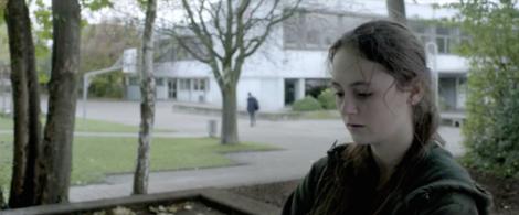"""Lea van Acken in Dietrich Brüggemann's """"Stations of the Cross."""" Courtesy of UFA Fiction."""